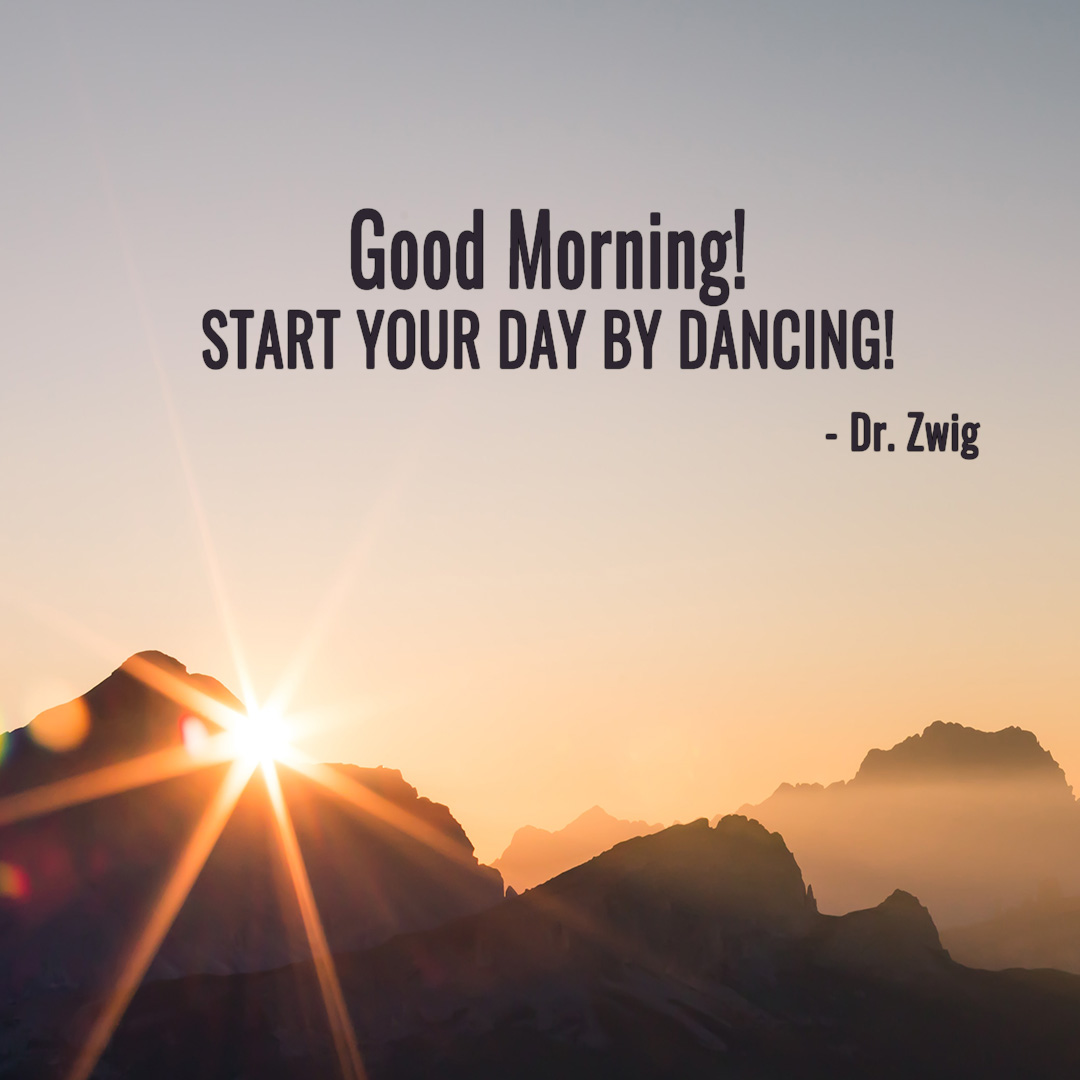 Start your day by dancing!